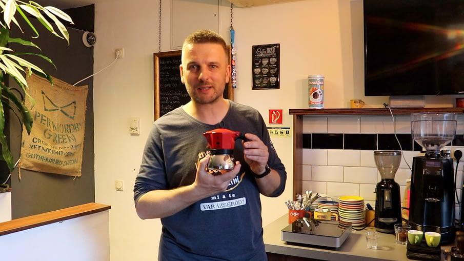 Jó kávé kotyogóson